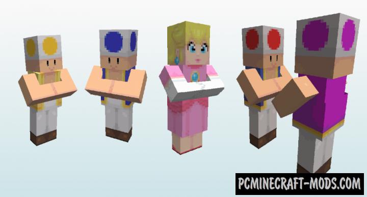 New Super Minio Bros. Resource Pack For Minecraft 1.12.2, 1.11.2, 1.10.2, 1.9.4