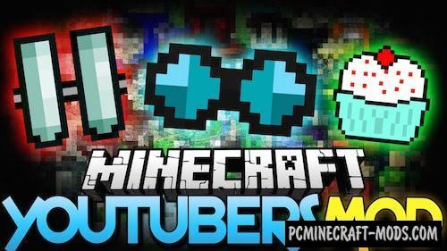 Youtuber Items Mod For Minecraft 1.7.10