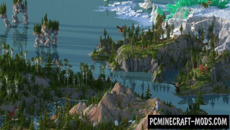 Fafnir's Rest - Adventure Map For Minecraft