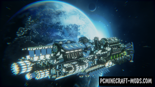 BC Comet Map For Minecraft