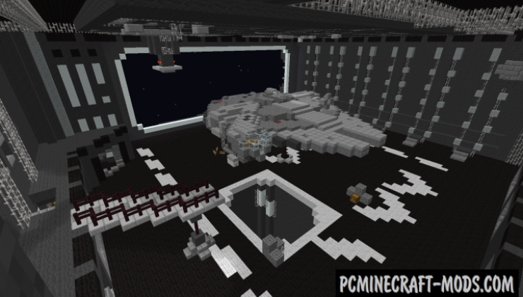 The Death Star - Building, 3D Art Map For Minecraft