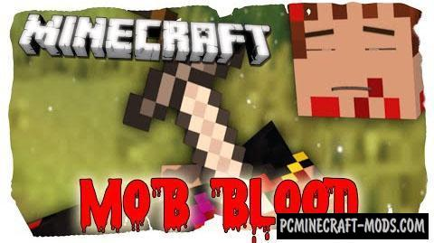 Blood Particles - Tweak Mod For Minecraft 1.14.4