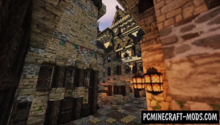 Templar Castle Map For Minecraft