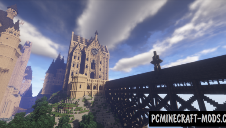 Hogwarts Map For Minecraft