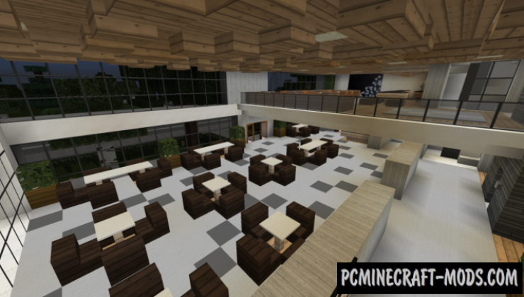 Modern Hotel Map For Minecraft
