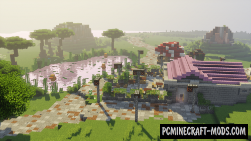 Wahoo Theme Park Map For Minecraft