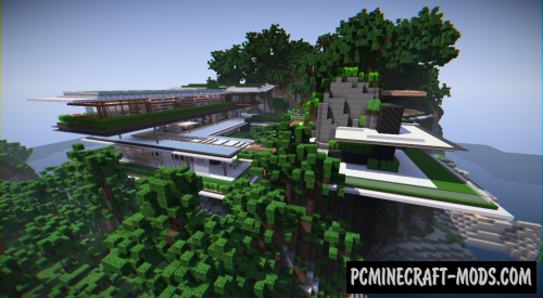 Xalima - House, Mansion Map For Minecraft