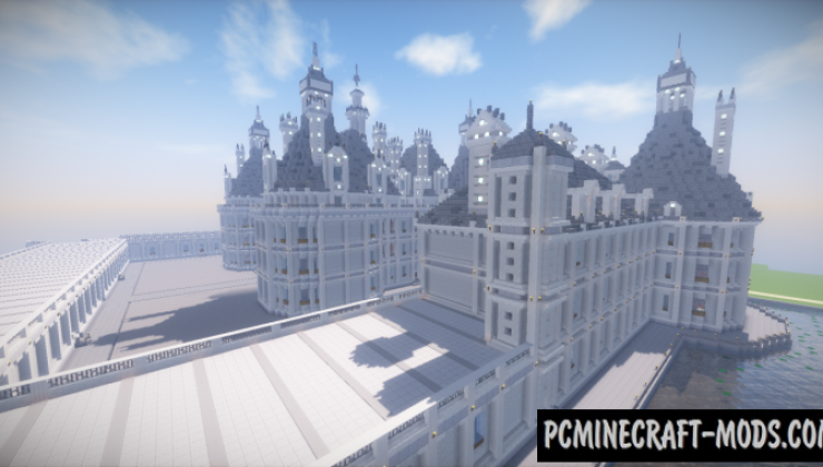 Castle of Chambord Map For Minecraft