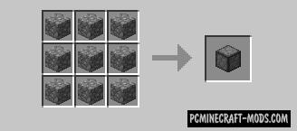 Compressed Cobblestone Mod For Minecraft 1.7.10