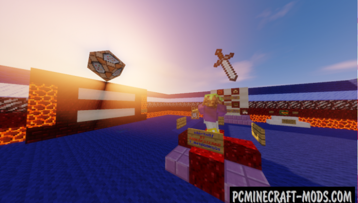 Command Block Wipeout - Parkour Map Minecraft