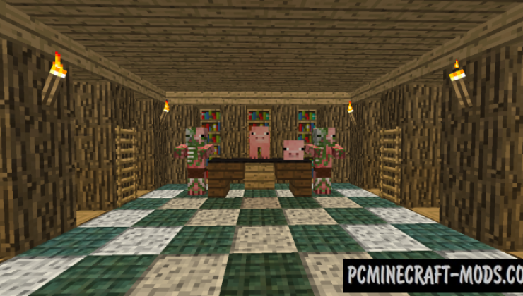 When Pigs Take Over 3 - Adventure Map Minecraft