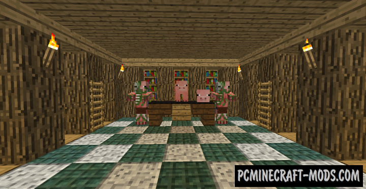 When Pigs Take Over 3 Map For Minecraft