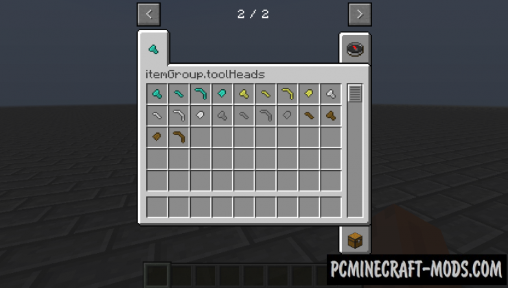 Tool Heads Mod For Minecraft 1.7.10