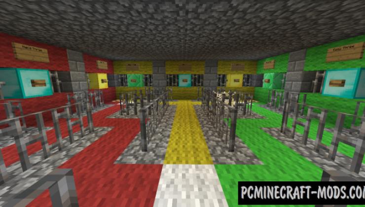 Prison Guard - Minigame Map For Minecraft