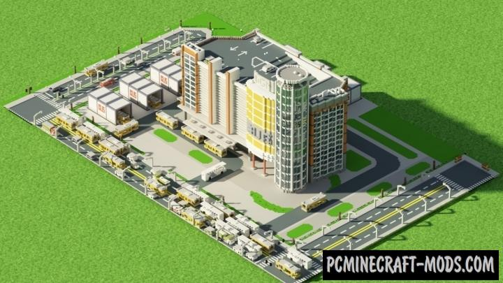 Simcity Map For Minecraft