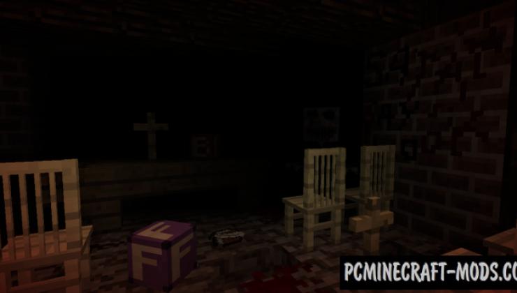 Demon Brain - Horror Map For Minecraft