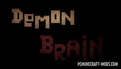Demon Brain Map For Minecraft