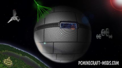 The Death Star Map For Minecraft