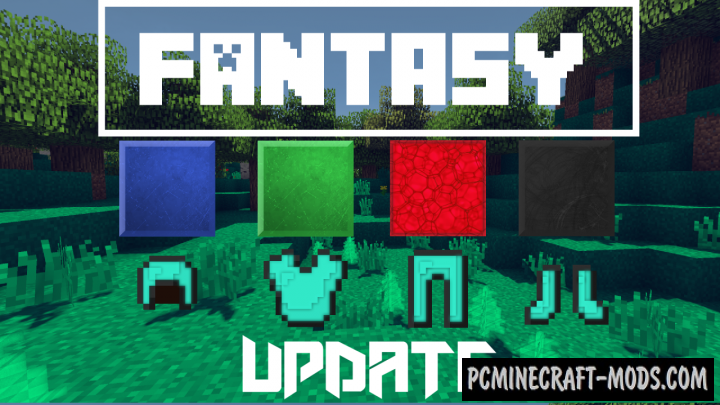 Fantasy Resource Pack For Minecraft 1.10.2, 1.10