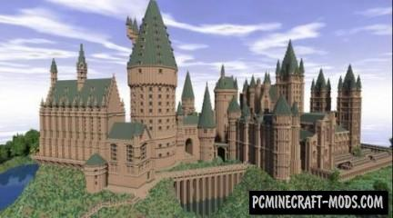 Hogwarts Third Year Map For Minecraft