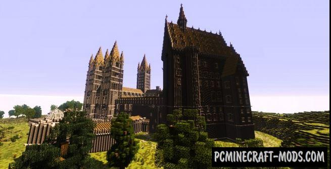 Hogwarts Third Year - Castle Map For Minecraft