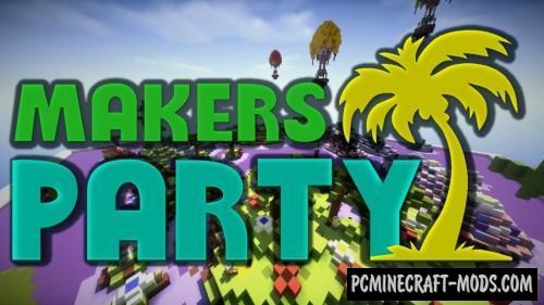 Makers Party Map For Minecraft