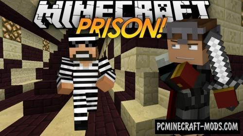 Prison Guard - Minigame Map For Minecraft