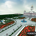 Modern Palace Map For Minecraft