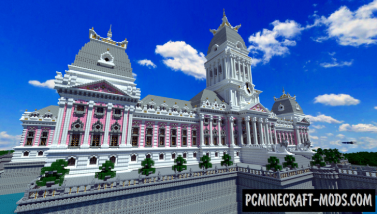 Dyanusia Palace Map For Minecraft