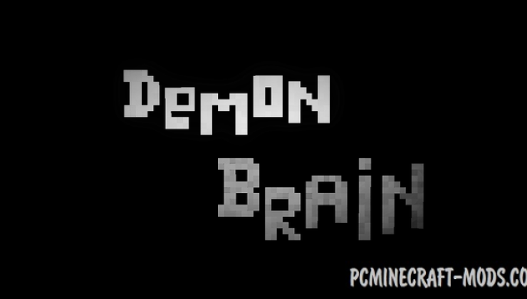 Demon Brain Map For Minecraft