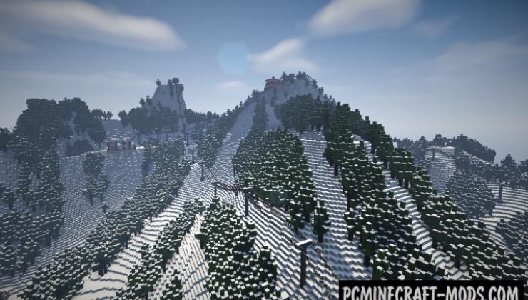 Working Ski Resort Map For Minecraft 1 15 1 14 4 Pc