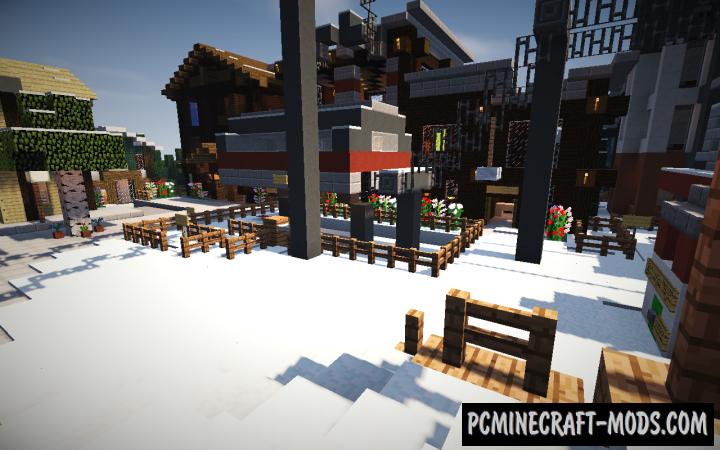 Working Ski Resort Map For Minecraft