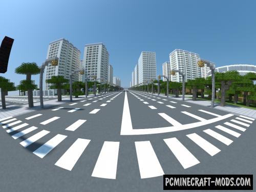 Spacia City Map For Minecraft