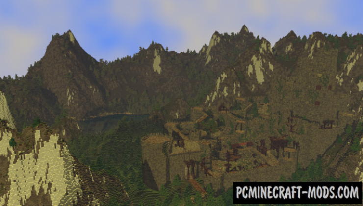 Kaer Morhen Map For Minecraft