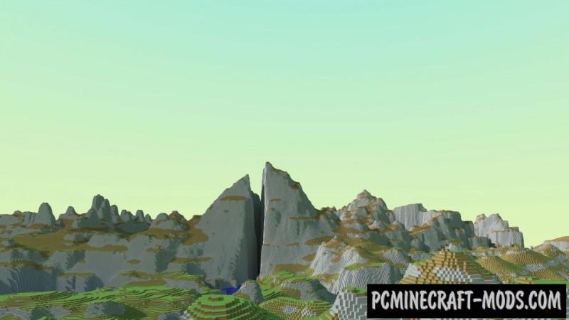Zelda - Breath of the Wild Map For Minecraft