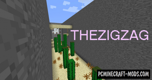 The Zigzag Map For Minecraft
