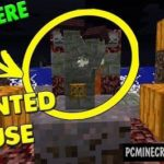Smallest Haunted House Command Block For Minecraft 1.11.2