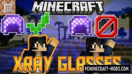 XRay Glasses Command Block - Wallhack For Minecraft 1.10.2