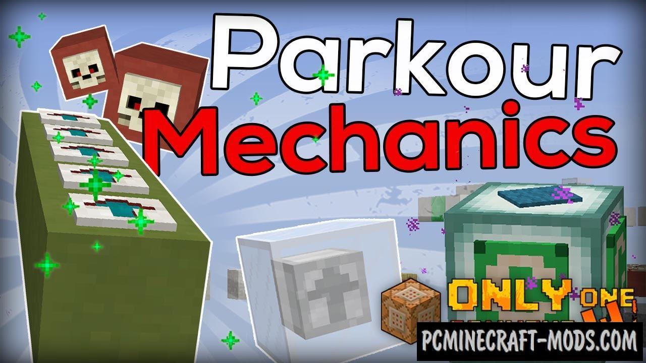 Parkour Mechanics Command Block For Minecraft 1.9.4, 1.9