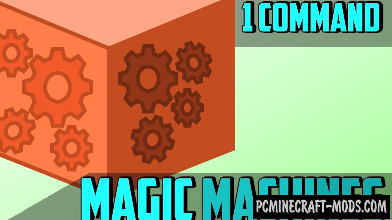 Magic Machines Command Block For Minecraft 1.10.2, 1.10