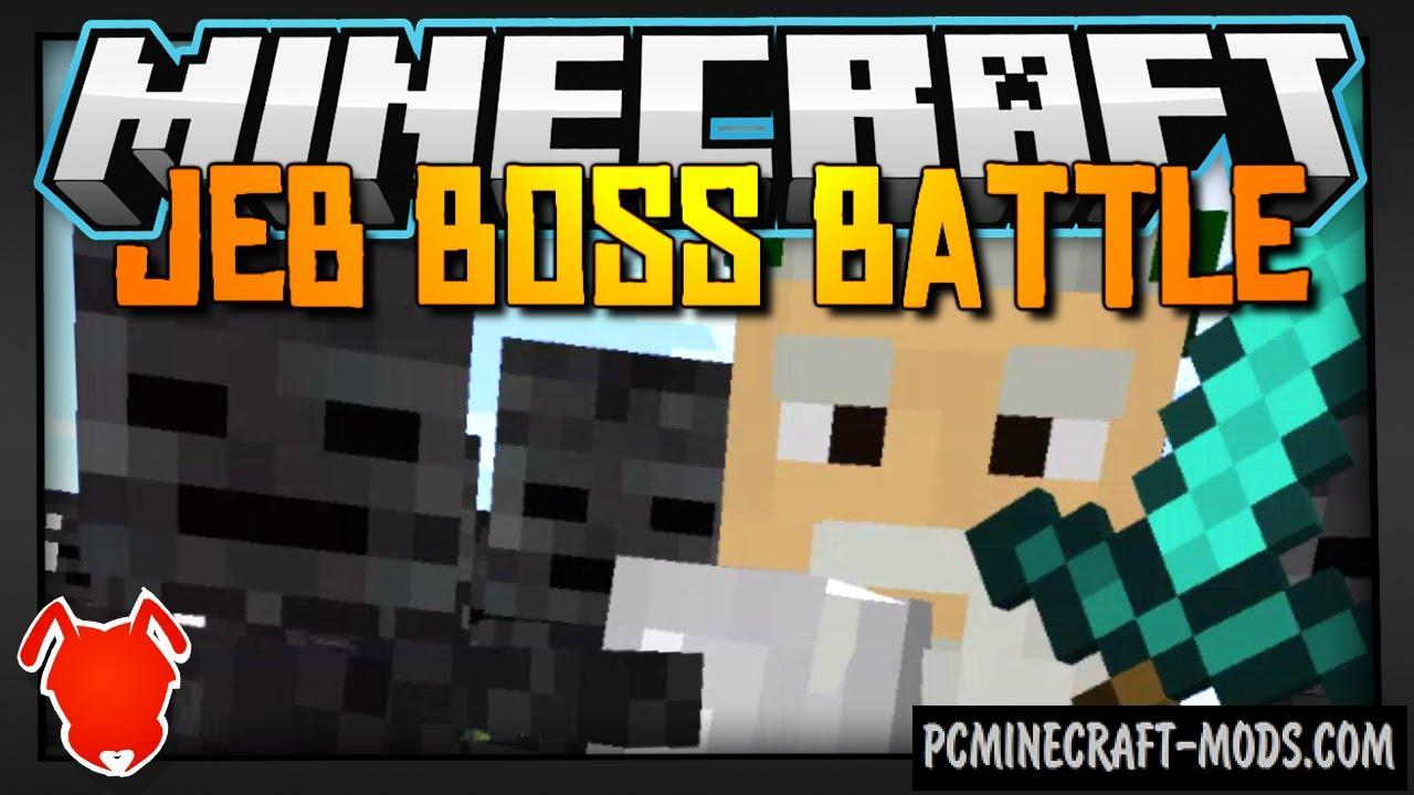 Jeb Boss Battle Command Block For Minecraft 1 8 9 1 8 Pc Java