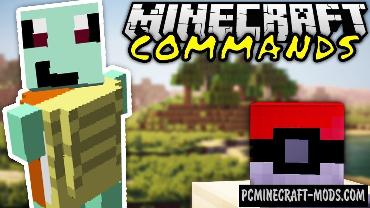 Pokemon Command Block For Minecraft 1 9 4 | PC Java Mods