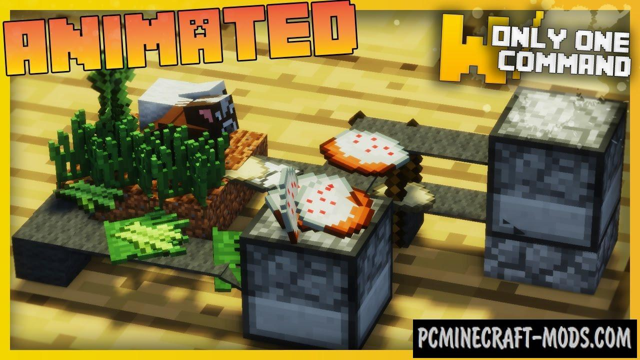 Smallest CAKE FACTORY Command Block For Minecraft 1.10.2