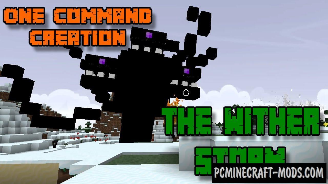 Wither Storm Boss Battle Command Block For Minecraft 1 9