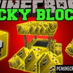 Lucky Blocks Command Block For Minecraft 1.8, 1.8.8