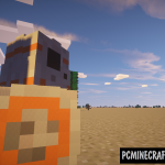 StarWars BB8 Command Block For Minecraft 1.11.2