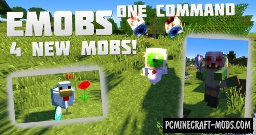 EMobs Command Block For Minecraft 1.12