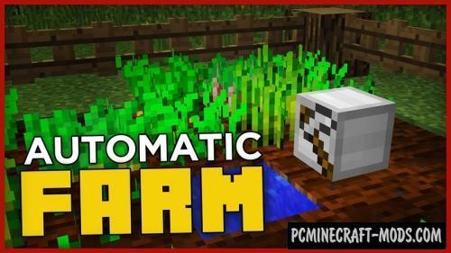 Automatic Farm Command Block For Minecraft 1.11.2
