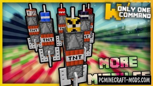 Destructive Missiles Command Block For Minecraft 1 11 2 | PC