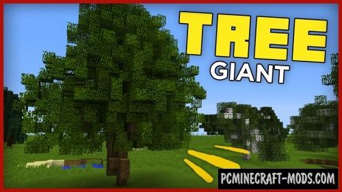 Giant Trees Command Block For Minecraft 1.11.2